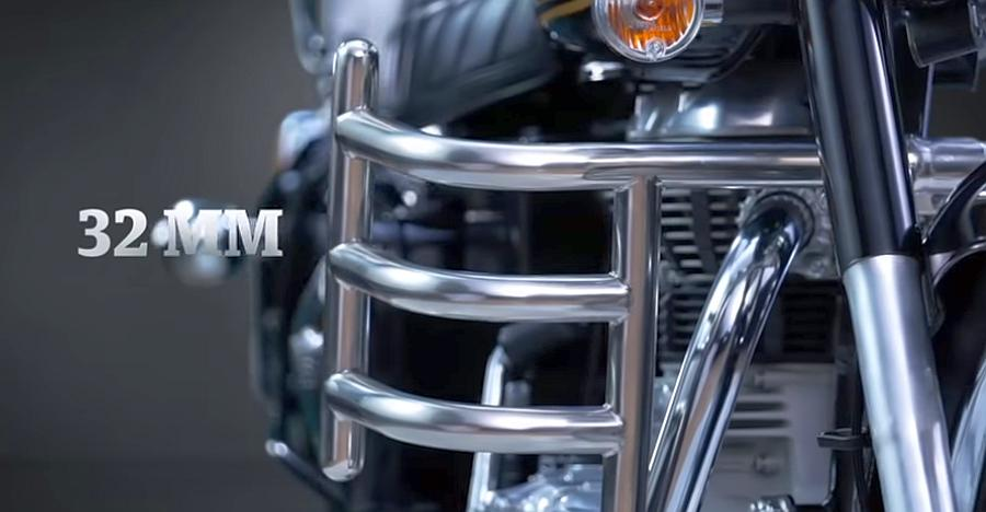 Royal Enfield Officially Launches Crash Guards For Classic Electra