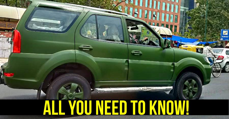 Army-spec Tata Safari Storme: How it's different from the regular one [VIDEO]