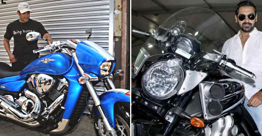 MONSTROUS motorcycles of India's rich & famous; From Salman Khan's Suzuki Intruder to John Abraham's Yamaha V-Max