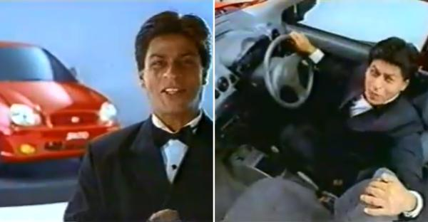 Watch a young Shahrukh Khan in his first-ever TVC for Hyundai Santro [Video]