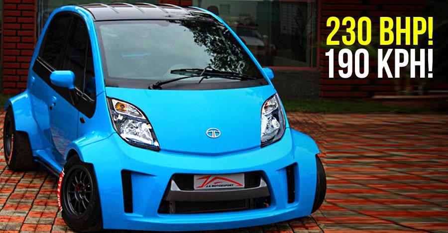 10 UNUSUAL modified cars of India: Tata Super Nano to Hyundai Santro