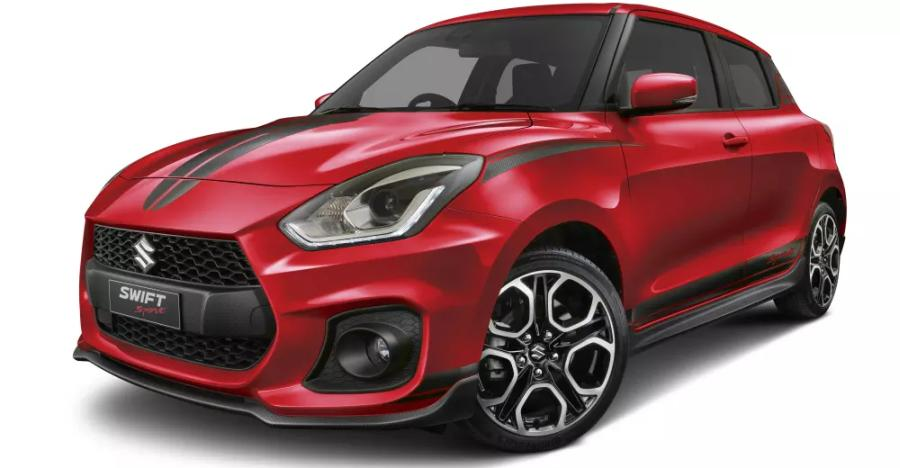 Suzuki Swift Sport Red Devil Edition is the definition of red-hot sporty