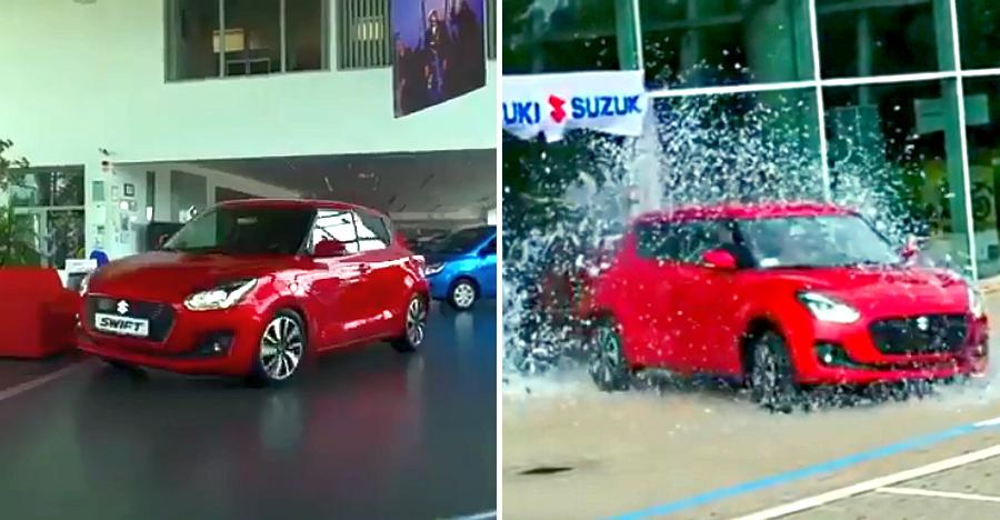The new Suzuki Swift slides around like a BOSS in this TVC [Video]