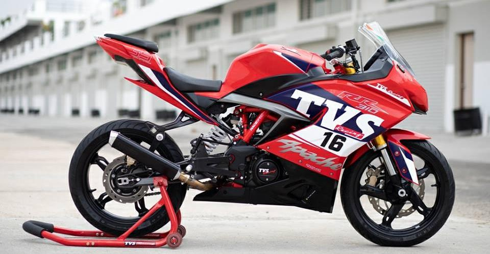 TVS Apache 310 Race Edition does a STUNNING top speed of 175 Kph: Details