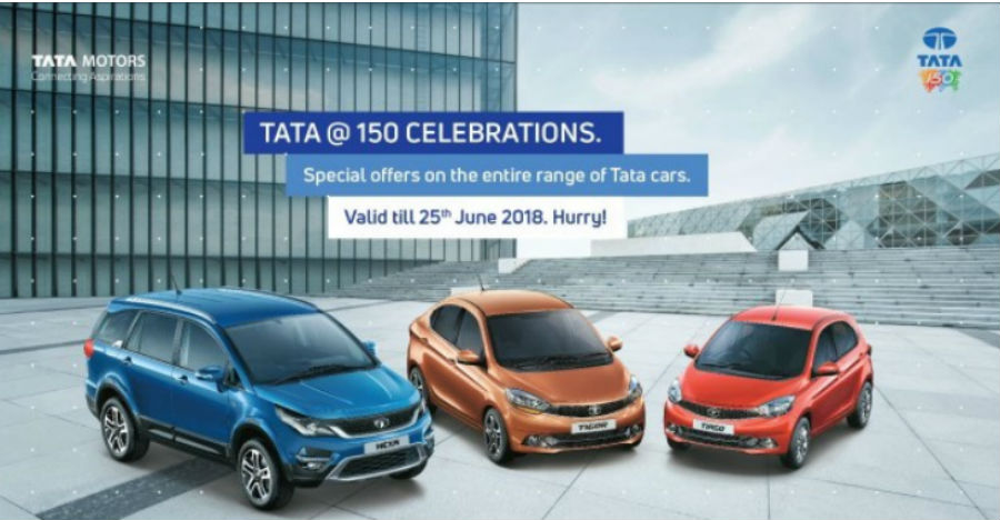 Tata Motors offering discounts of up to Rs. 1 lakh on Nexon, Tiago, Tigor & more cars in India