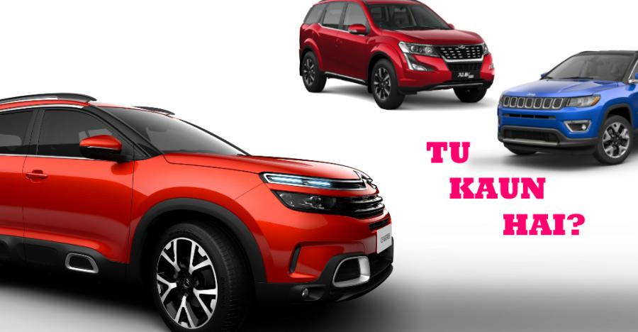 India-bound Citroen C5 Aircross SUV: How it COMPARES with the Jeep Compass & Mahindra XUV500