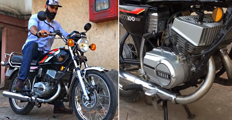 India's FIRST & only 'twin-cylinder' Yamaha 'RX200': This is IT [Video]