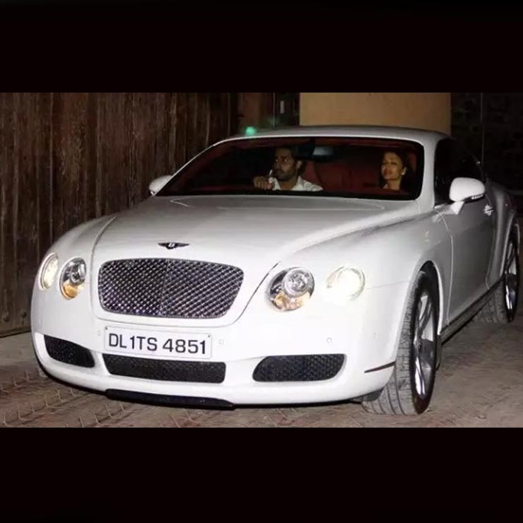 Abhishek Bachchan, Aishwarya Rai & Their Cars: Mercedes S