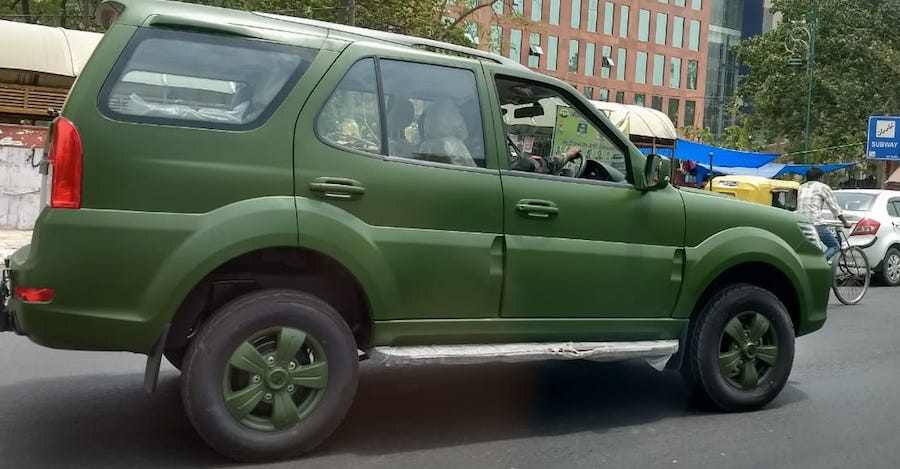 Tata Safari Storme Army-spec: Army explains why it needs an AC SUV
