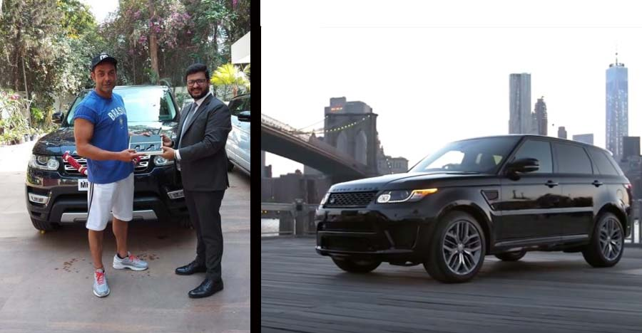 Bollywood actor Bobby Deol's latest ride is a luxurious Range Rover Sport SUV
