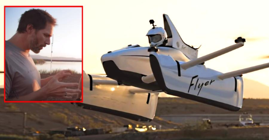 Google founder Larry Page's flying car: First flight on VIDEO