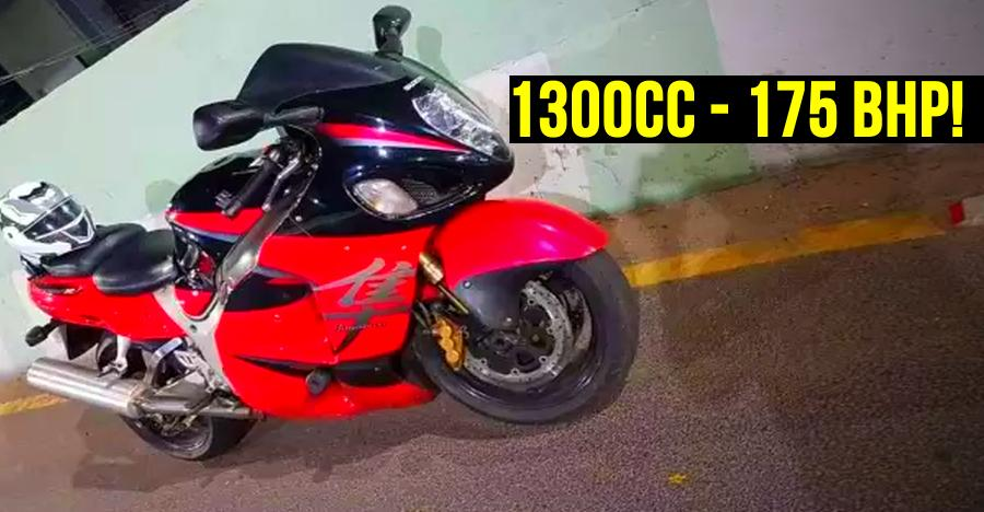 This is India's CHEAPEST Suzuki Hayabusa superbike