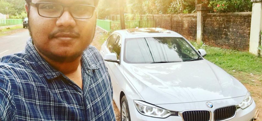 Thanks to Google, 21-year old youngster from Kannur buys a BMW