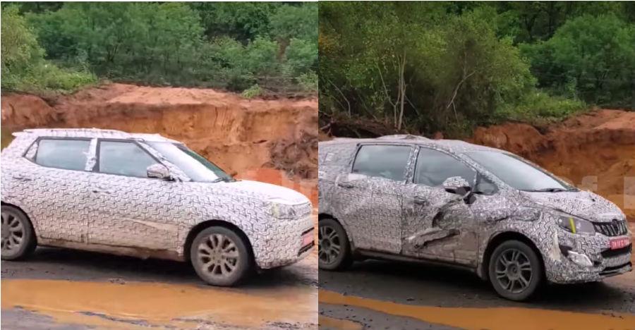 Mahindra S201 compact SUV & U321 MPV (Brezza & Innova rivals) SPIED testing ahead of launch [Video]