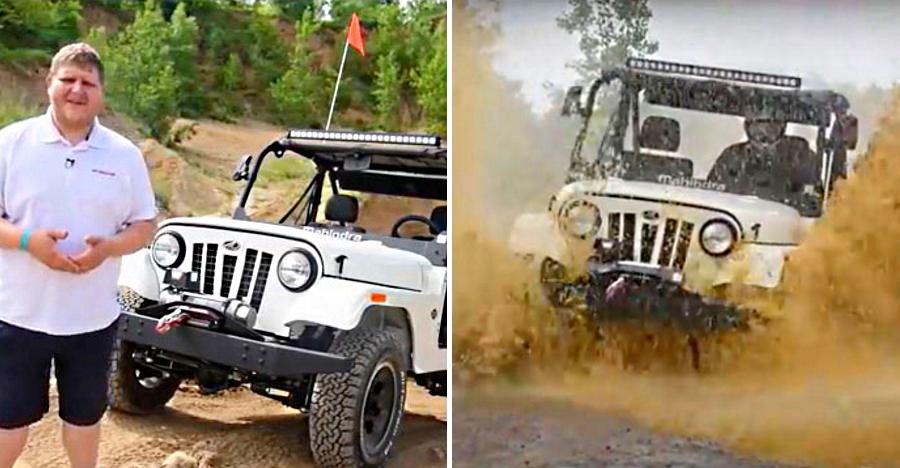 Mahindra Roxor: What Americans are saying about this SUV after heavy off-roading [Video]