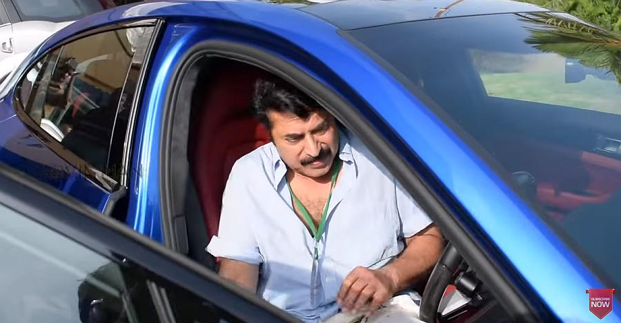 Superstar Mammootty spotted driving a brand-new Porsche Panamera Turbo [Video]