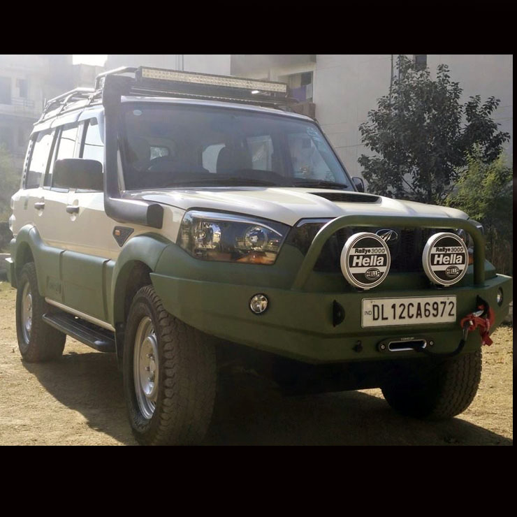 Mahindra Scorpio 5 Brute Mod Jobs You Can Opt For In India