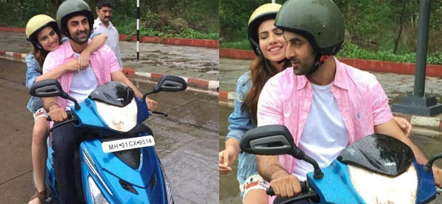 Ranbir Kapoor spotted with a pretty girl on the Hero Maestro Edge: Details