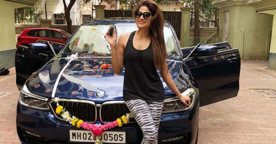 Bollywood actress Shamita Shetty's latest ride is a swanky BMW 630i GT