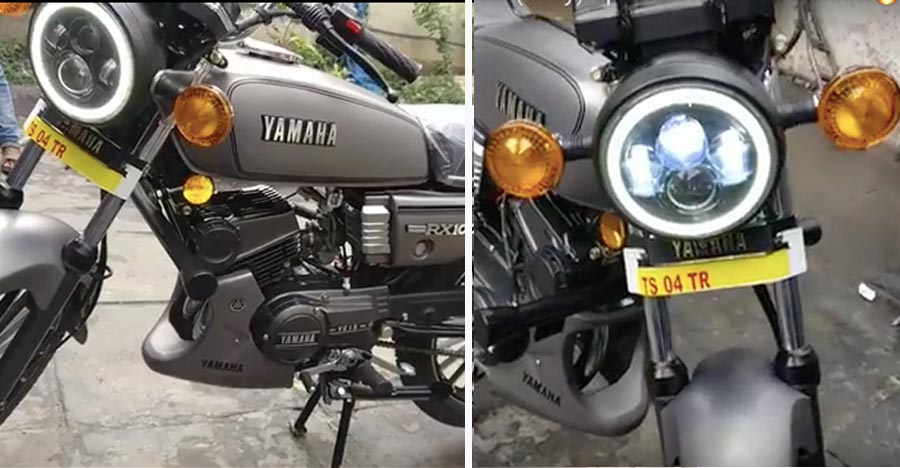 This resto-modded Yamaha RX100 looks factory-FRESH [Video]