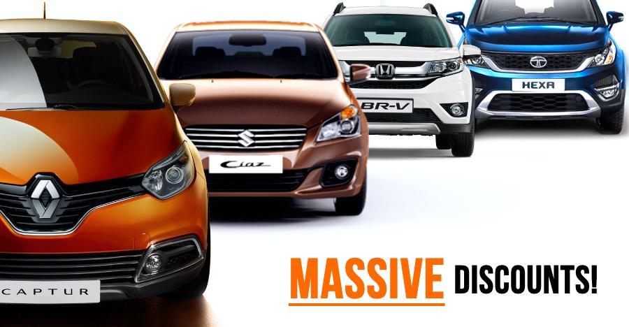12 cars & SUVs with 1 lakh+ DISCOUNTS: Maruti Ciaz to Tata Hexa
