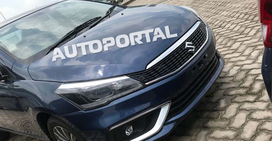 BREAKING: 2018 Maruti Ciaz facelift fully revealed in new photos