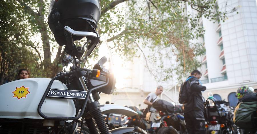 2018 Royal Enfield Himalayan Odyssey flagged off from Delhi