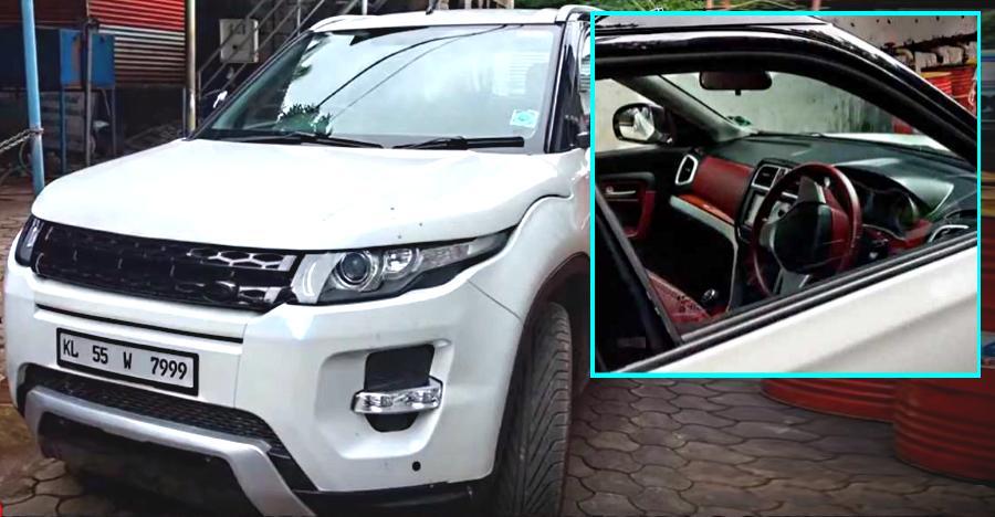 A Range Rover Evoque That S Actually A Maruti Brezza Video