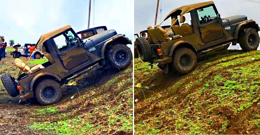 Driverless Mahindra Thar off-roading on its own: What's happening here [Video]