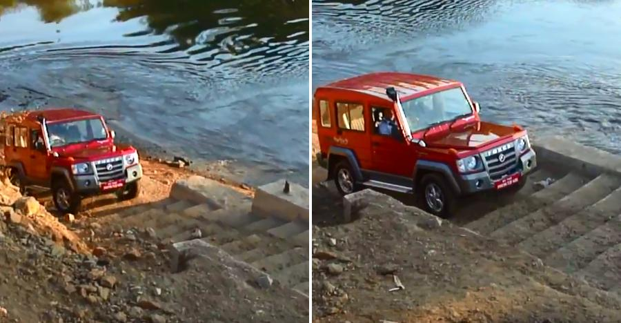 Force Gurkha climbing stairs takes EXTREME to an all new level [Video]