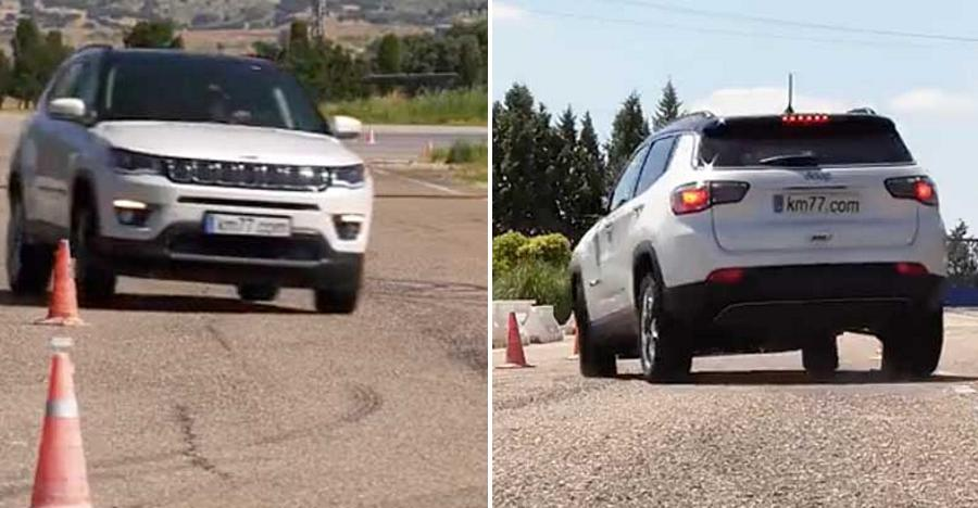 Jeep Compass passes the 'Moose Test', like a BOSS [Video]
