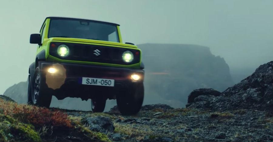 New Suzuki Jimny: Official video shows SUV conquering TOUGH terrain