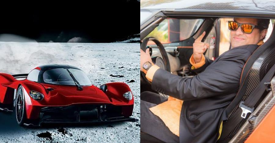RICH Indian buys 20 crore car, paints it with moondust costlier than a BMW