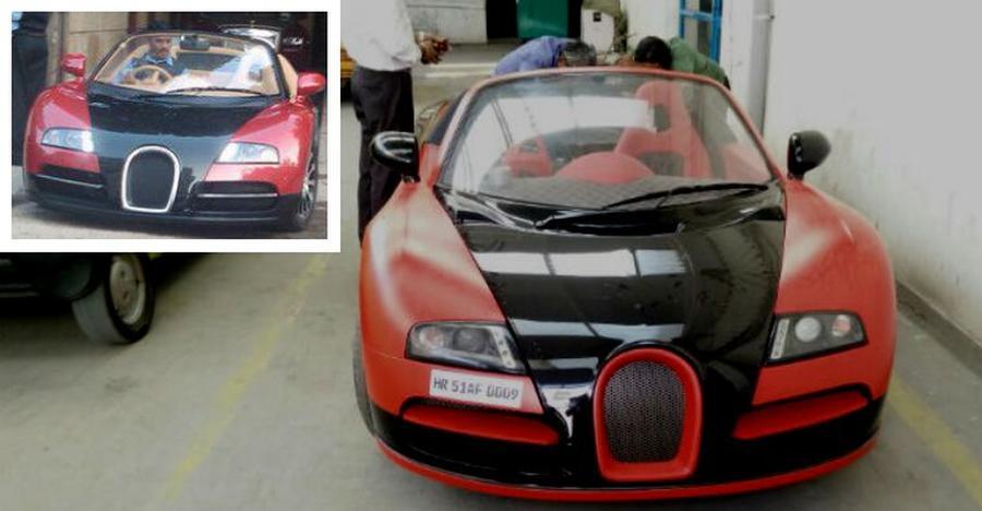 Bugatti Veyron replicas built on regular cars like Honda City, Tata Nano & more