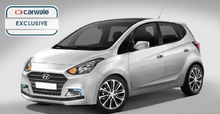 All-new Hyundai Santro: Another render shows what the new hatchback could look like