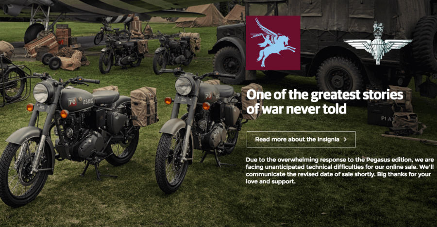 Royal Enfield Classic 500 Pegasus sale delayed in India: Here is why