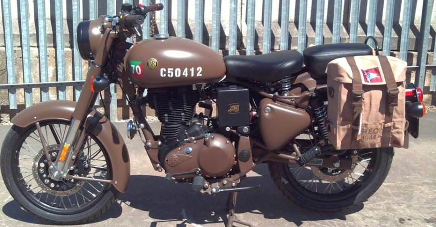 Royal Enfield Classic 500 Pegasus: What it looks like in the flesh