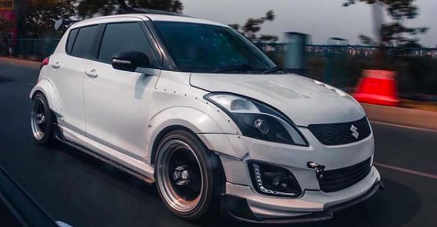 10 modified 'low rider' cars from India: Maruti Swift to Honda Accord