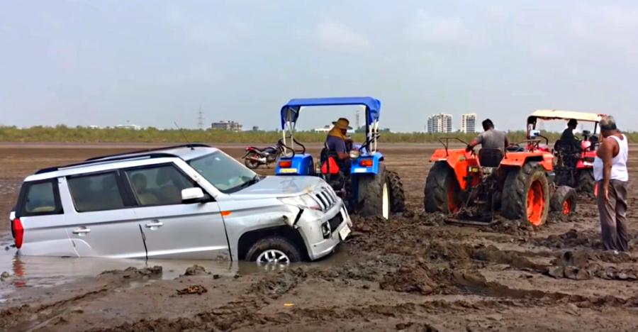 5 places you should NOT take your two-wheel drive car/SUV to [Video]