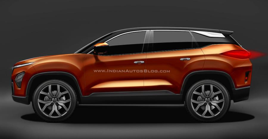 Tata Harrier SUV will lose curves on its production version: Take a look