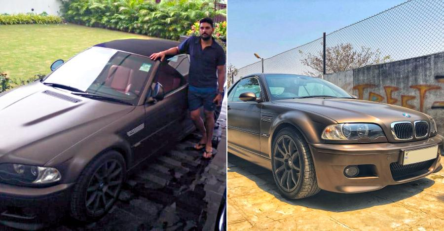 Exclusive Yuvraj Singh S Modified Bmw M3 From Autologue Design Is