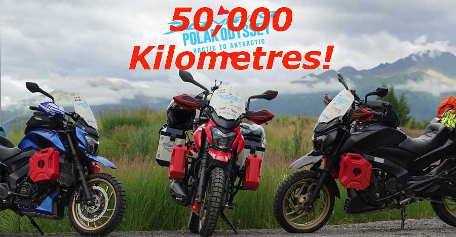 Bajaj Dominar to be ridden 50,000 KMs from North Pole to South Pole