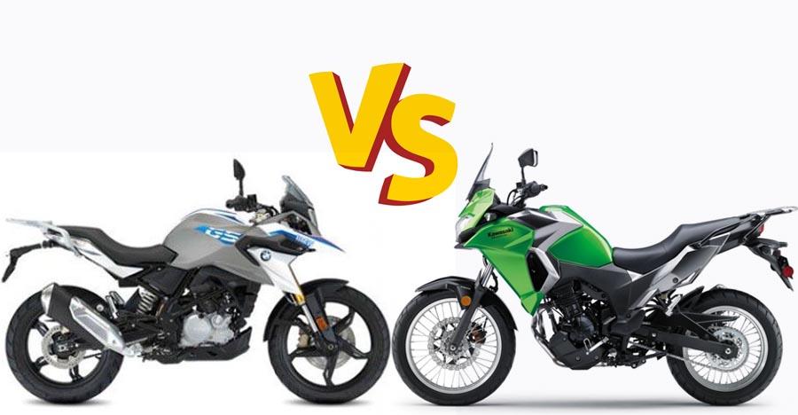 BMW G 310GS vs Kawasaki Versys X-300 in a drag race: Who wins? [Video]