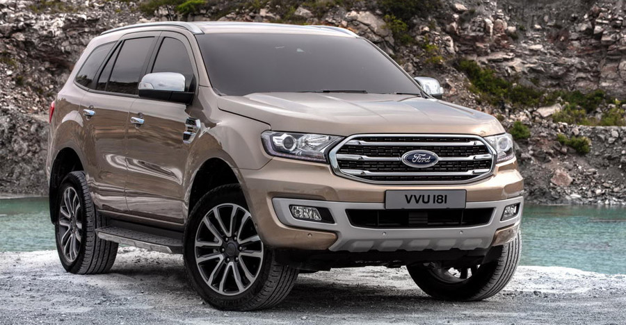 Ford Endeavour Facelift: This is IT!