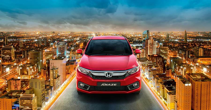 Honda Amaze CVT Automatic Petrol & Diesel now available in top-end VX trim
