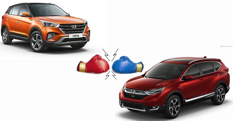 All-new Honda CR-V Diesel SUV to be less powerful than the Hyundai Creta: We explain!