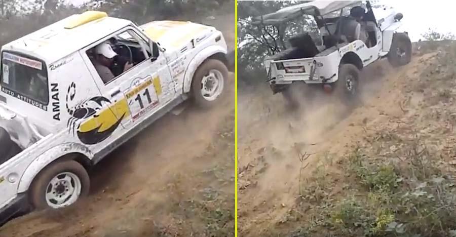 Vintage Jeep CJ vs Maruti Gypsy: Who can climb better? [Video]
