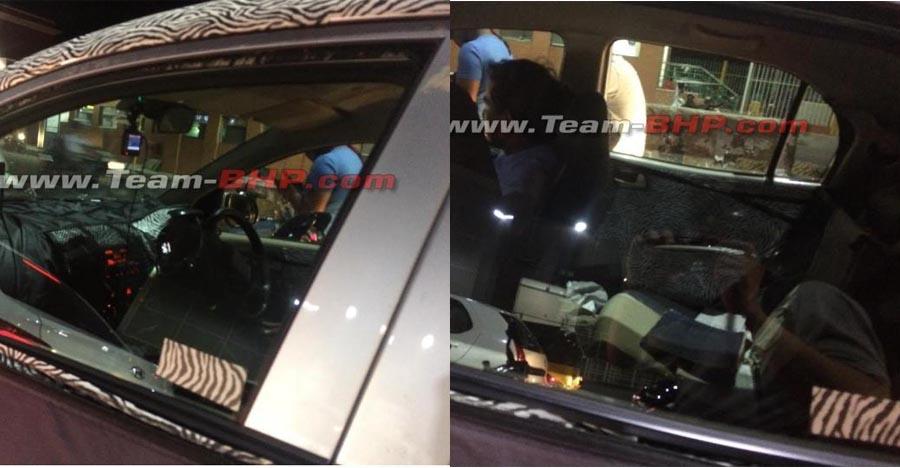 New Hyundai Santro spied again: More interior details revealed
