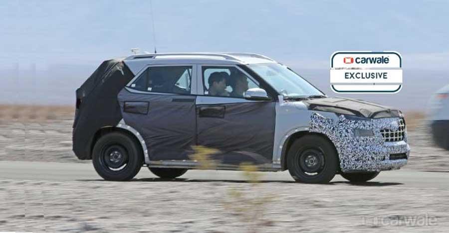 Hyundai's upcoming Maruti Brezza-rival looks like a mini-Creta: SPIED