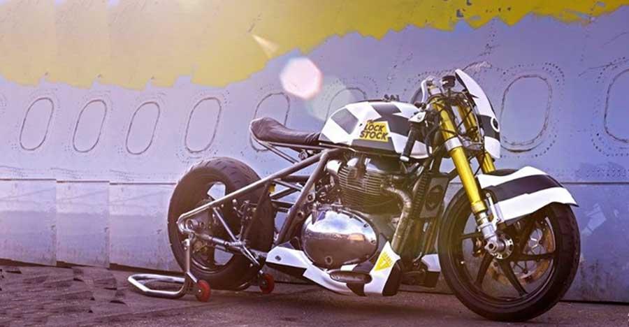 Royal Enfield Interceptor 650-based LockStock custom bike is a NITROUS boosted monster
